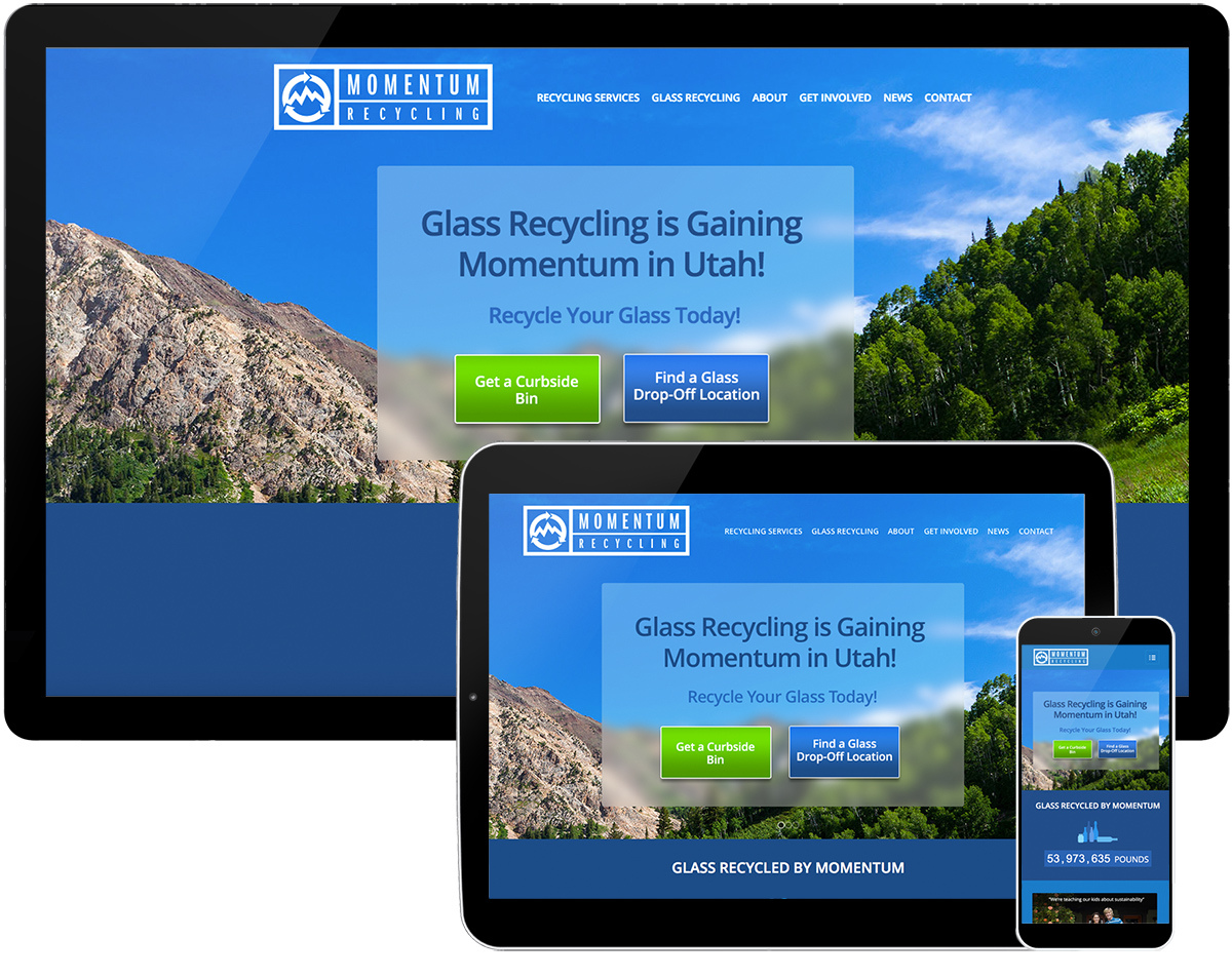 Momentum Recycling Website