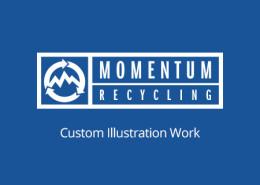 Momentum Recycling - Custom Illustration Work