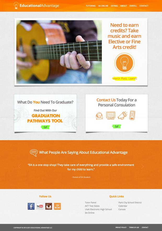 Educational Advantage Homepage