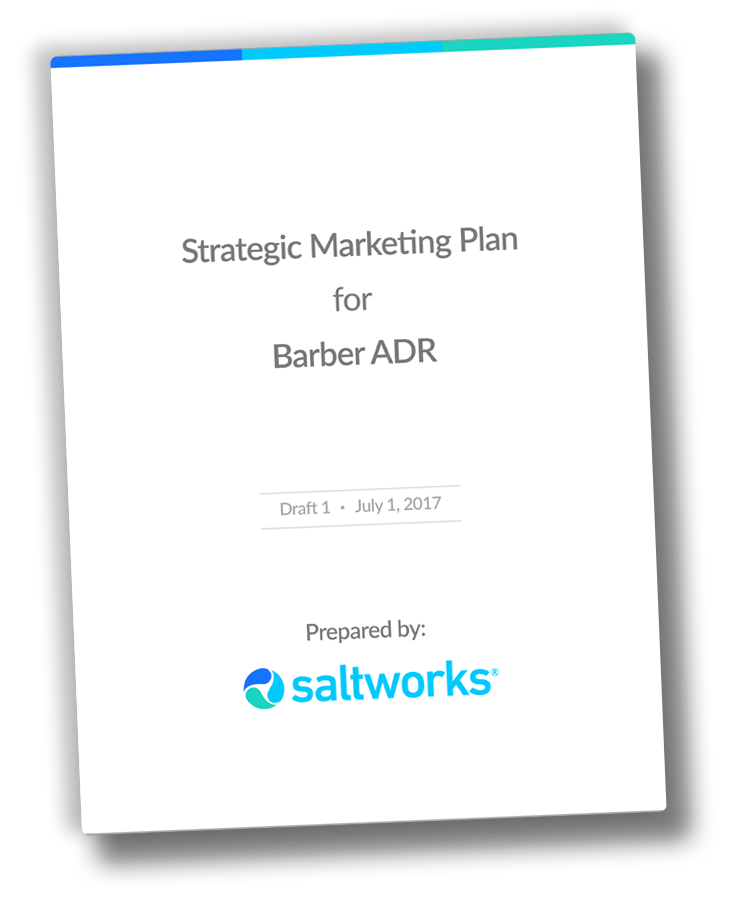 Barber ADR Marketing Plan